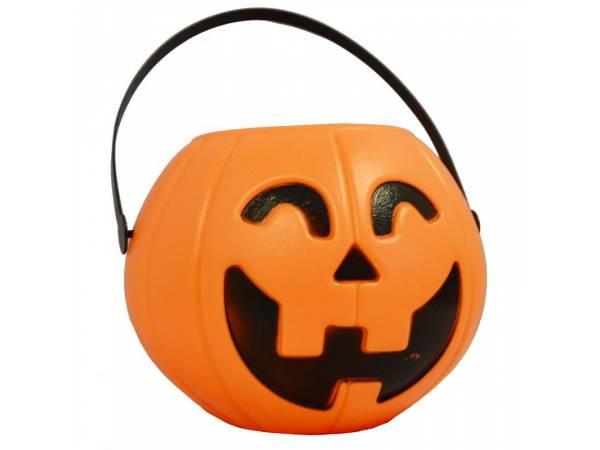 Deco Halloween- Chaudron plastique 16 cm