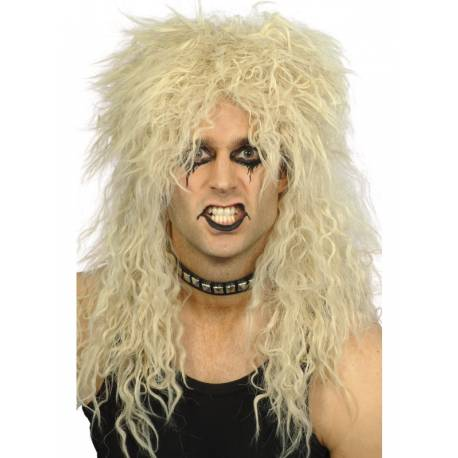 Perruque hard rock pour compléter votre costume ou accessoiriser votre photobooth