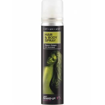 Spray pour corps et cheveux vert