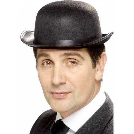 Chapeau melon pour compléter votre costume ou accessoiriser votre photobooth.