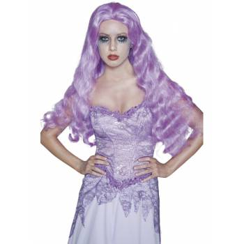 Perruque gothique violette