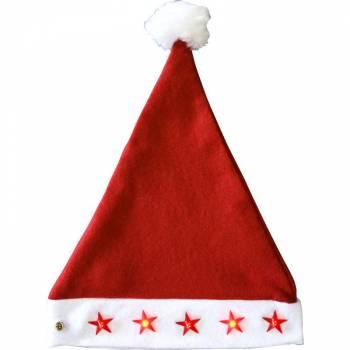 Bonnet Noël lumineux enfant