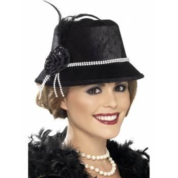 Chapeau noir 1920