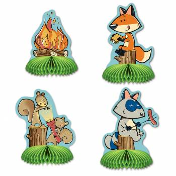 4 Décors de table woodland friends