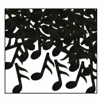 Confettis Note de musique
