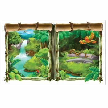 Décor mural Fenêtre sur Jungle