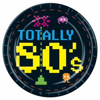 Assiettes Vidéo 80's