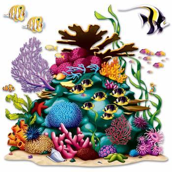 Décor mural Récif de corail