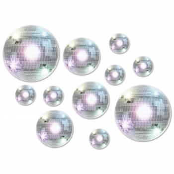 20 décors boules Disco
