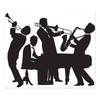 Silhouette Jazz band