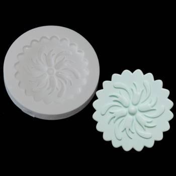 Moule à modelage pour cupcakes Fleur spirale