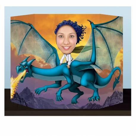 Point photo Dragon pour prendre des photos inoubliables de vos invités lors de vos fêtes d'anniversaire sur le thème fantastique game of...