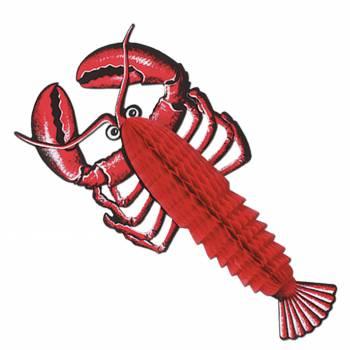 Décor de table homard 43 cm
