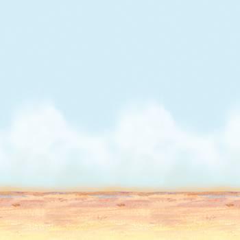 Toile ambiance mural ciel du desert
