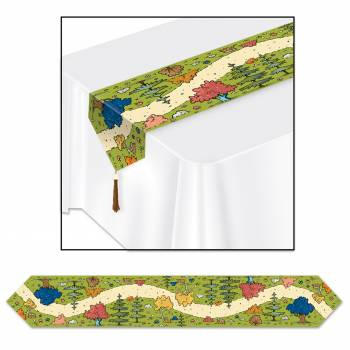 Chemin de table woodland friends