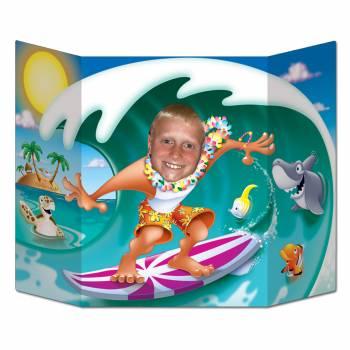 Point photo surfeur vague