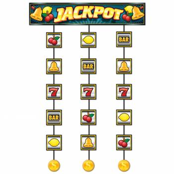 Décor de porte Casino Jackpot