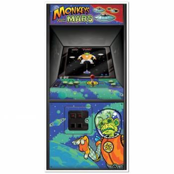 Décor mural jeux d'arcade