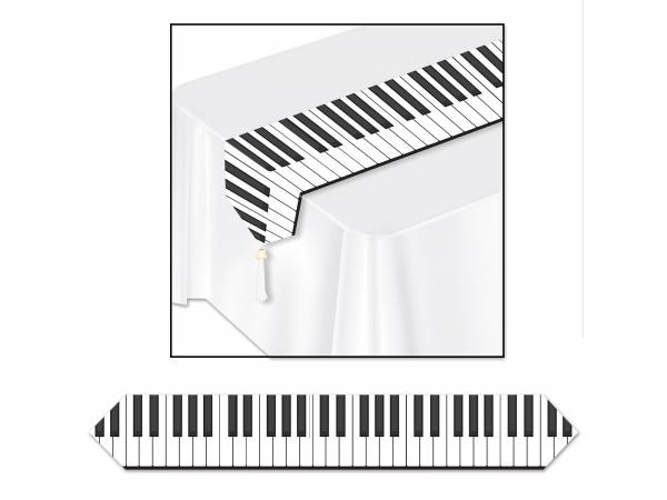 chemin de table jetable musique. Black Bedroom Furniture Sets. Home Design Ideas