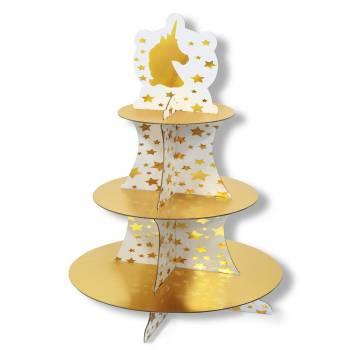 Stand à gâteaux Licorne