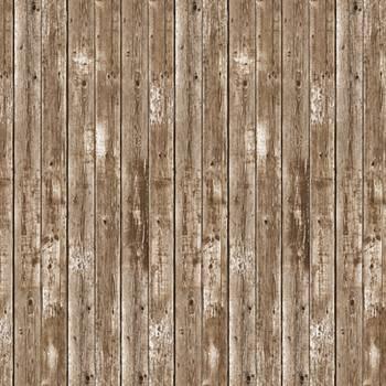 Décor mural grange en bois