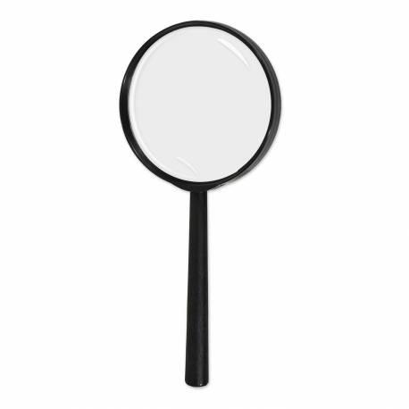 Loupe en plastiqueidéal pour agrémenter un déguisement de Sherlock Holmes Dimensions : 23 cm