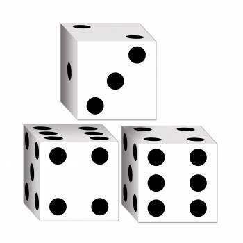 3 Boîtes dès de jeux