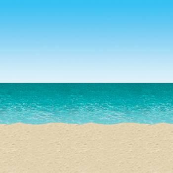 Decor mural plage et mer