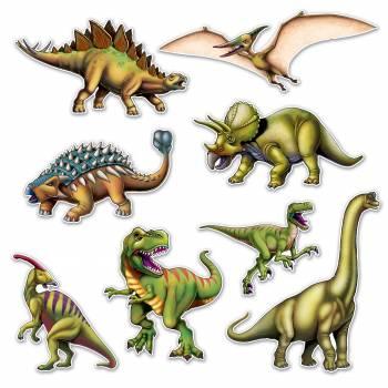 8 Décors Dinosaure