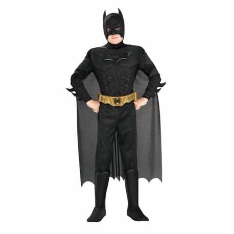 Combattez le crime avec ce déguisement licence de Batman: Dark Knight Ce costume est composé d'une combinaison 3d, de surbottes, d'une...