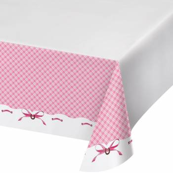 Nappe plastique Cheval girly