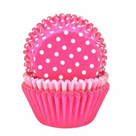75 Caissettes à cupcakes en papier prévu pour la cuissonA utiliser avec 1 moule à muffinsØ 5 cm