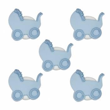 poussettes en sucre baby bleu