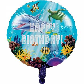 ballon geant ocean dauphin