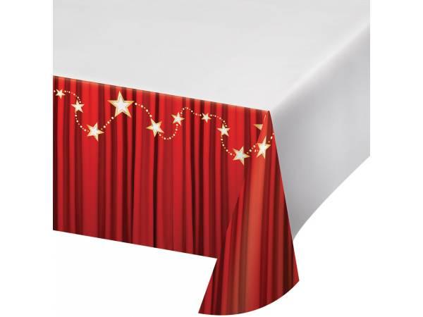 nappe en plastique rideau rouge thema deco. Black Bedroom Furniture Sets. Home Design Ideas