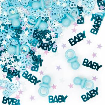 confettis de table totoche baby boy