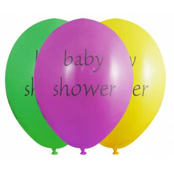 ballons latex baby color