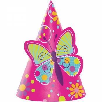 chapeau papillons