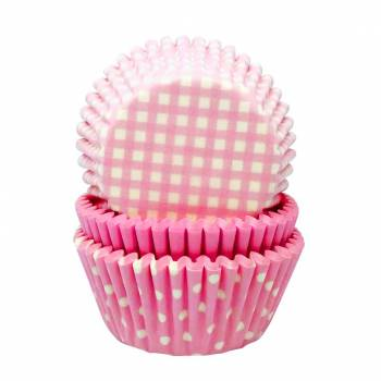 caissettes cupcakes baby girl