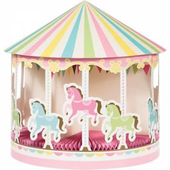 Centre de table Carrousel - Deco anniversaire.fr