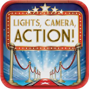 8 assiettes light camera action