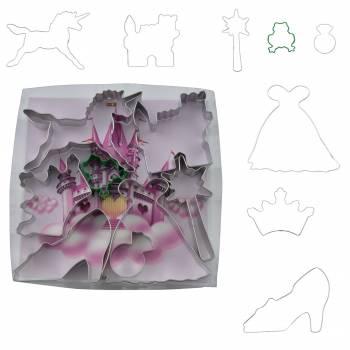 8 Emporte pièces thème Princesse