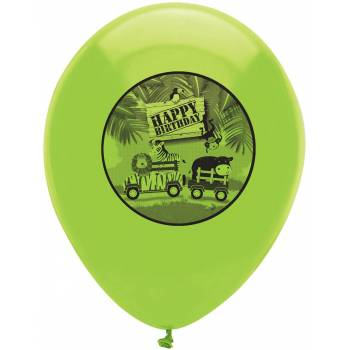 ballons latex safari