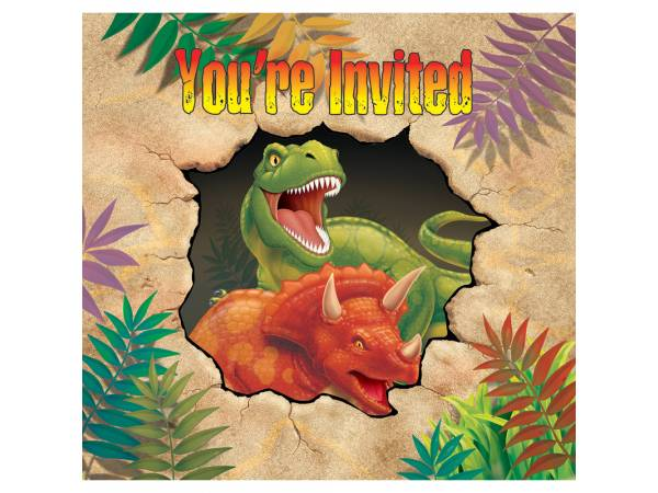invitations anniversaire th me dinosaure. Black Bedroom Furniture Sets. Home Design Ideas