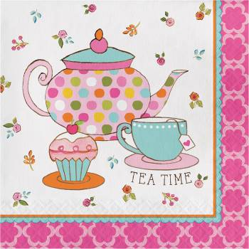 serviettes tea time