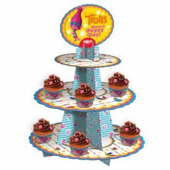 Présentoir à cupcakes Trolls