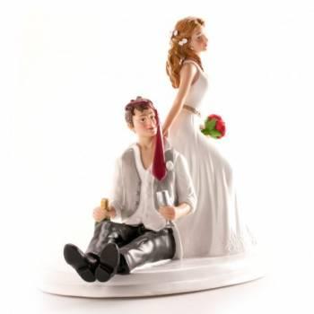 Figurine de Mariés Saoul 14 cm