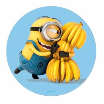 Disque azyme Minions banane