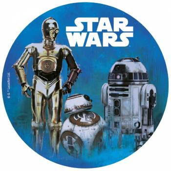 Disque Azyme Star Wars 20cm