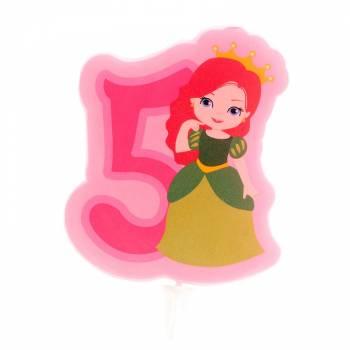 Bougie n°5 Princesse